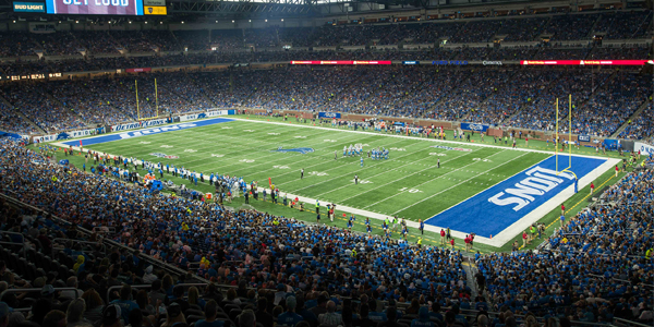 Ford Field – Home of the Detroit Lions