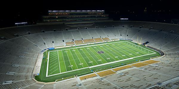 Notre Dame football stadium