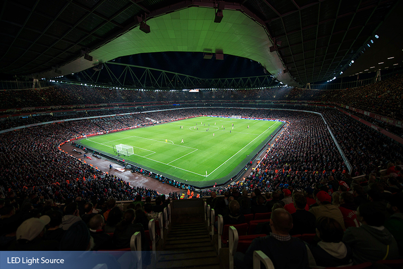 Emirates Stadium - Arsenal Football Club – LED Light Source