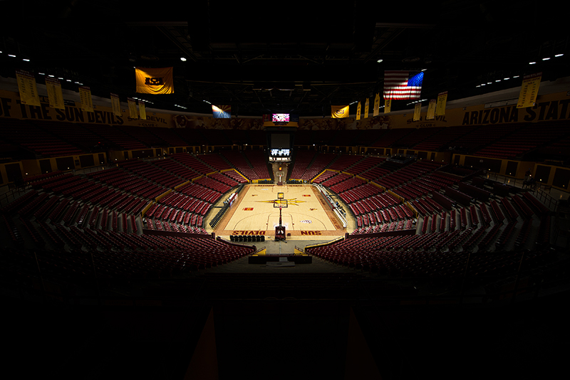 Wells Fargo Arena, Home of the ASU Sun Devils • Tempe, Arizona • LED Light Source