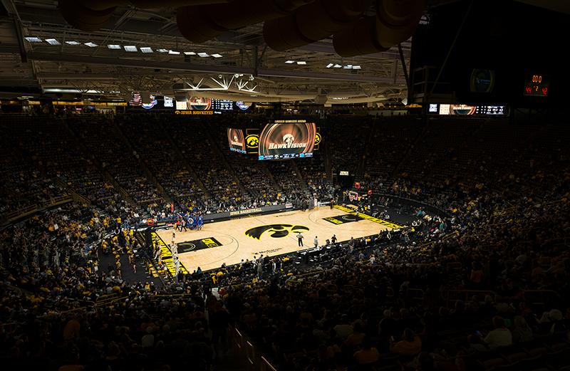 Carver Hawkeye Arena U Of Iowa Musco Lighting