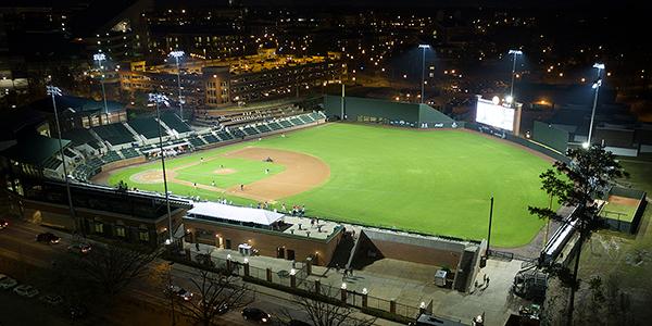 Samford Stadium-Hitchcock Field at Plainsmen Park—Auburn University