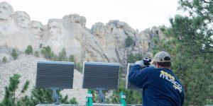 Mount Rushmore National Memorial installation