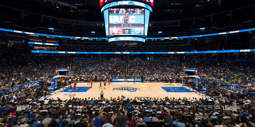 Amway Center – Home of the Orlando Magic