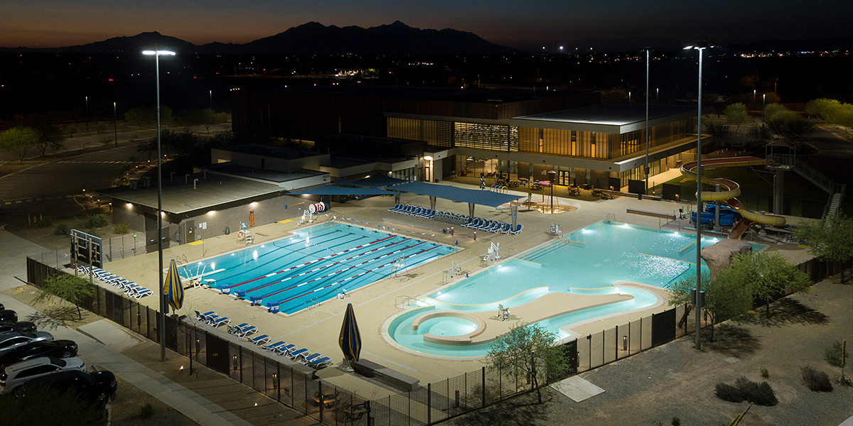 Copper Sky Aquatic Center