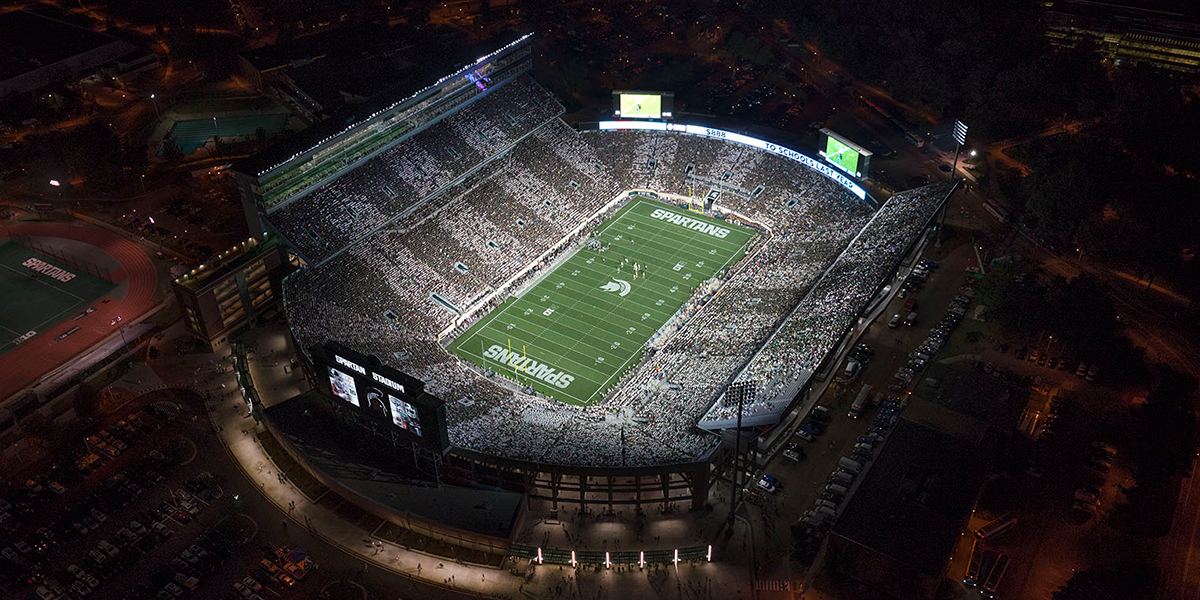 Michigan State University – Spartan Stadium