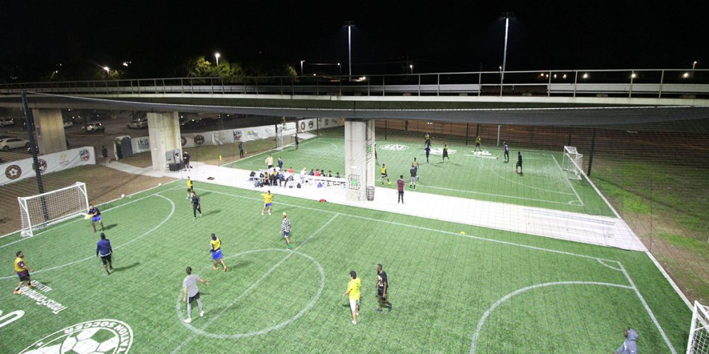 Soccer in the Streets - West End Station