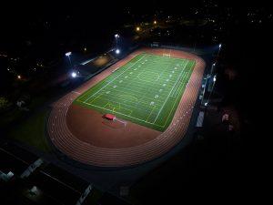 Art Crate High School Stadium