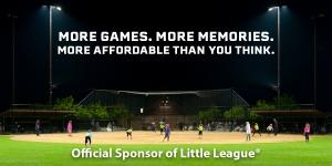 Official Sponsor of Little League®