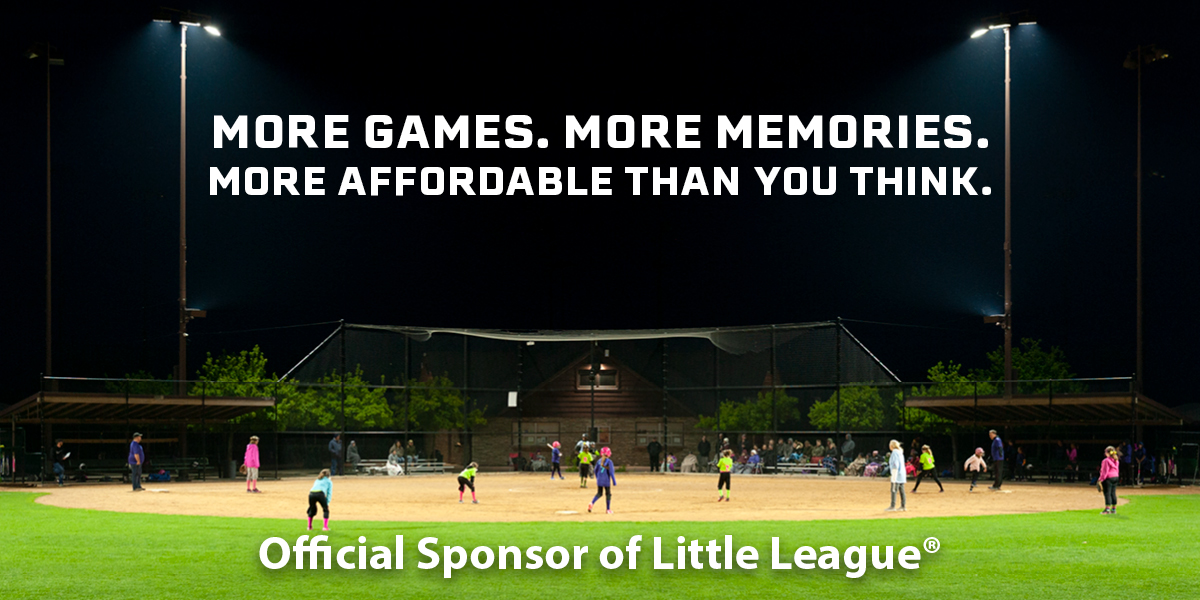 Official Sponsor of Little League®