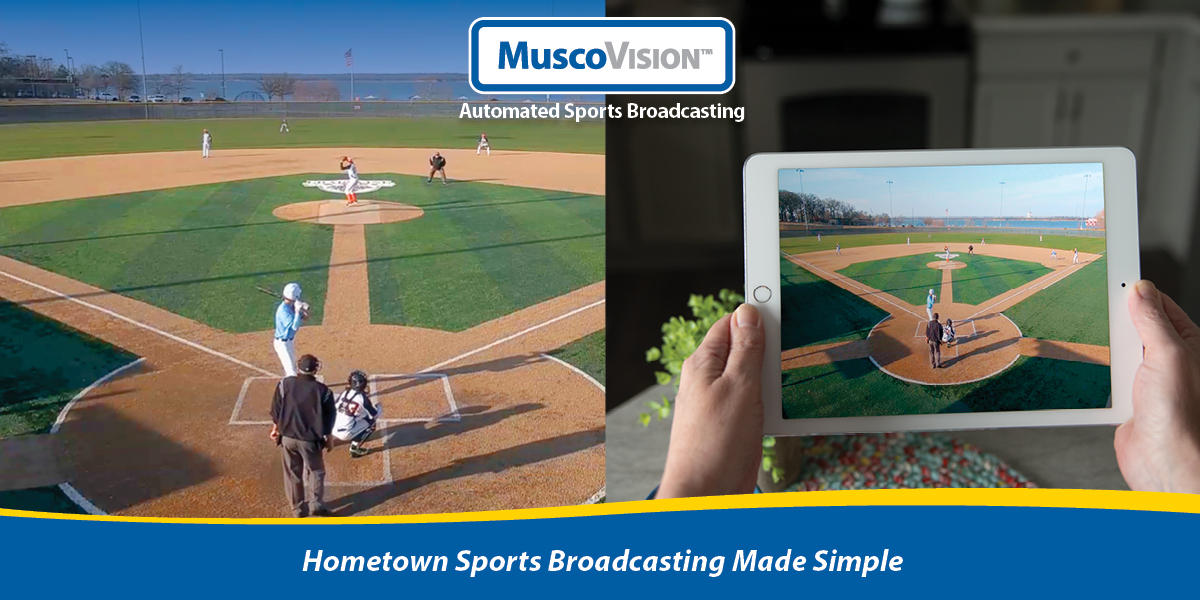MuscoVision ™ Automated Sports Broadcasting