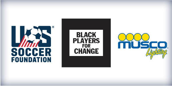 Partnership between Black Players for Change, Musco Lighting, and U.S. Soccer Foundation