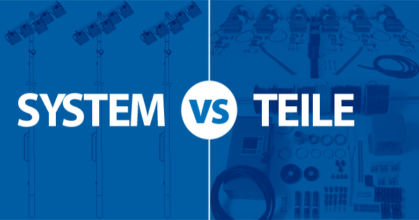 System vs Teile