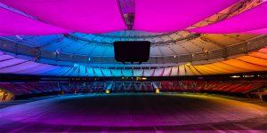 BC Place Stadium Showlights