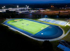 Lakeway Christian Academy Track and Soccer Field
