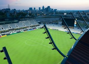 Louisville City Football Club's Lynn Family Stadium