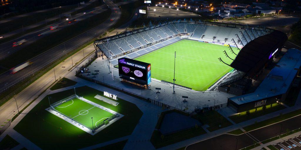 Louisville City Football Club's Lynn Family Stadium and Mini-Pitch
